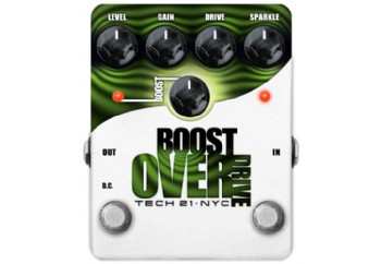 Tech 21 BSTO Boost Overdrive - Boost Overdrive Pedalı