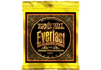 Ernie Ball 2558 Everlast 80/20 Bronze Light Takım Tel - Akustik Gitar Teli  011-052