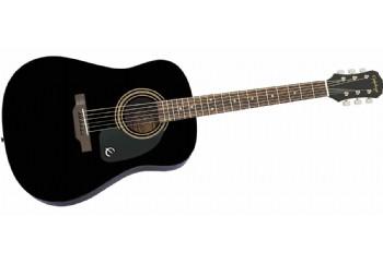 Epiphone DR-100 Ebony - EA10EBCH1 - Akustik Gitar