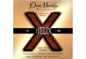 Dean Markley 2088 MED Helix HD Takım Tel - Akustik Gitar Teli 013-056