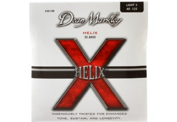 Dean Markley 2613B LT Helix HD Stainless Steel Takım Tel - 5 Telli Bas Gitar Teli 045-125