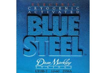 Dean Markley 2558A LTHB-7 Blue Steel Electric Takım Tel - 7 Telli Elektro Gitar Teli 010-060