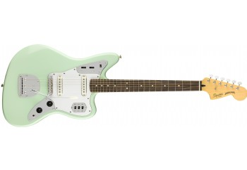 Squier Vintage Modified Jaguar Surf Green - Indian Laurel - Elektro Gitar