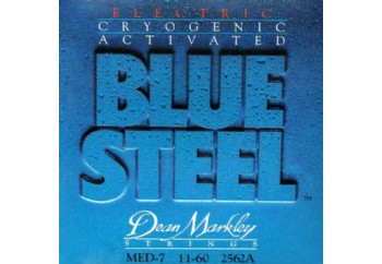 Dean Markley BlueSteel 2562A 7 String - MED Takım Tel - Elektro Gitar Teli 011-060