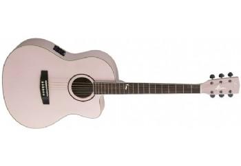 Cort Jade 2F PPM - Pale Pink Metallic - Elektro Akustik Gitar