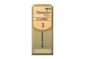 Rico Royal Mitchell Lurie Premium Bb Clarinet Reeds 3 - Bb Klarnet Kamışı (5'li Paket)