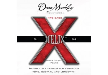 Dean Markley Helix NPS 2612 MED Takım Tel - Bas Gitar Teli 050-105