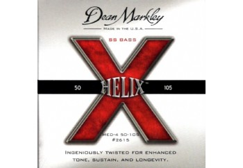 Dean Markley 2615 Helix HD Bass Guitar Strings Takım Tel - Bas Gitar Teli 050-105