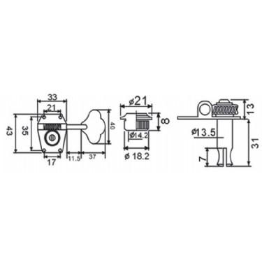 Dr. Parts BMH1530BKR2L2