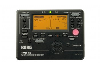 Korg TMR-50 BK - Siyah - Akort Aleti & Metronom & Kayıt Cihazı