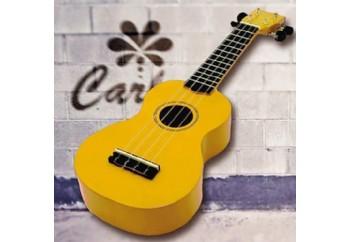 Carlos CRU50 YLW - Sarı - Soprano Ukulele