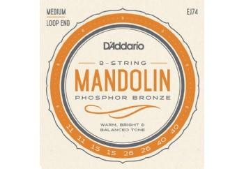 D'Addario EJ74 Takım Tel - Mandolin Teli