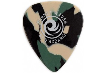 Planet Waves Camouflage Celluloid Guitar Picks 1 Adet Medium - Pena