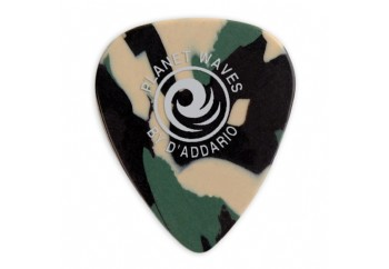Planet Waves Camouflage Celluloid Guitar Picks 1 Adet Heavy - 1mm - Pena