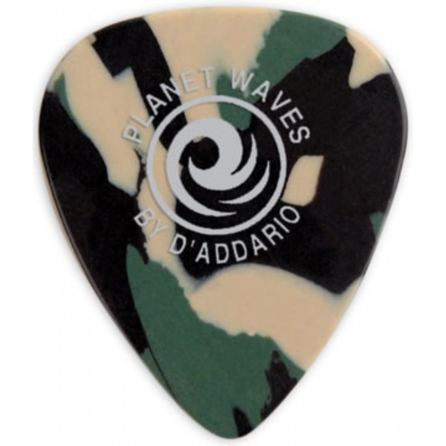 Planet Waves Camouflage Celluloid Guitar Picks
