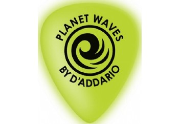 Planet Waves 1CCG7 Cellu-Glo Picks Extra-Heavy - 1 Adet