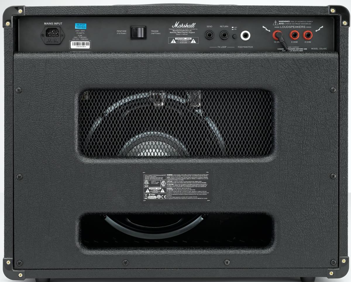 Marshall DSL40C 1x12 Elektro Gitar Amfisi