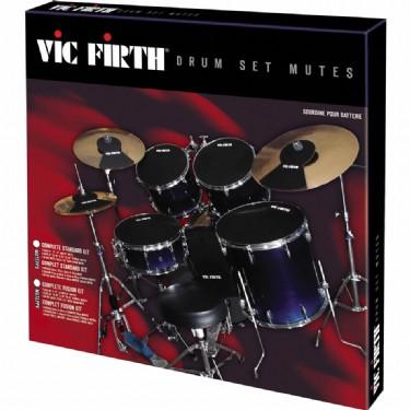 Vic Firth MUTEPP3 Mute Prepack 3