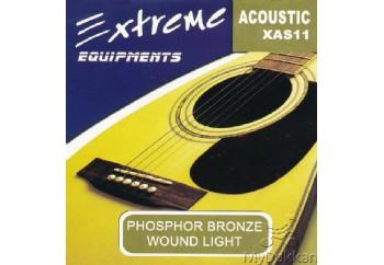 Extreme XAS11 Takım Tel - Akustik Gitar Teli 011-