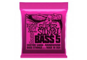 Ernie Ball 2824 Slinky Round Wound Takım Tel - 5 Telli Bas Gitar Teli 040-125