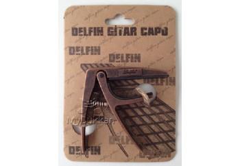 Delfin Gitar Kaposu Metalik Kahve - Klasik Gitar Kaposu