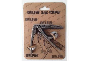 Delfin Saz Kaposu Metalik Siyah - Saz Kaposu