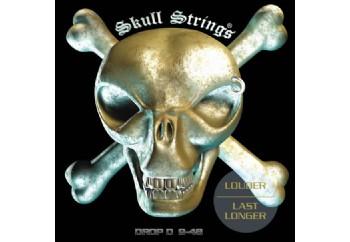 Skull Strings DROP D 9-48 Takım Tel - Elektro Gitar Teli 009-048