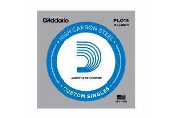 D'Addario EXL115BT Nickel Wound, Balanced Tension Medium, 11-50 PL019 - G (Sol) Tek tel