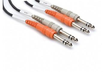 Hosa Technology CSS-202 Balanced Cable 2 Metre - 6.35 mm. Stereo (Erkek) - 6.35 mm. Stereo (Erkek)