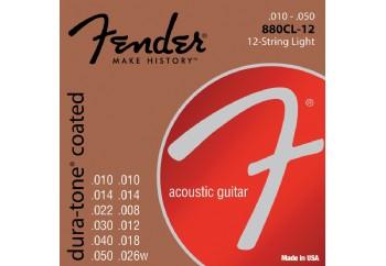 Fender 880CL12 80/20 Coated Takım Tel - 12 Telli Akustik Gitar Teli