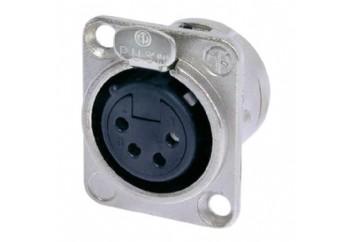 Neutrik NC4FD-L-1  - Şasi Tipi XLR Dişi Jack (4 Pin)