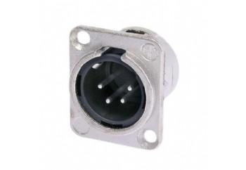 Neutrik NC4MD-L-1 - Şasi Tipi XLR erkek Jack (4 Pin)
