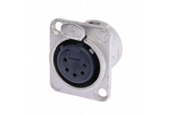 Neutrik NC5FD-L-1 - Şasi Tipi XLR Dişi Jack (5 Pin)