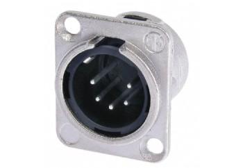 Neutrik NC5MD-L-1 - Şasi Tipi XLR Erkek Jack (5 Pin)