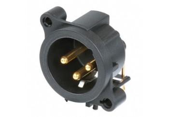 Neutrik NC3MAAH-0 - Şasi Tipi XLR Erkek Konnektör