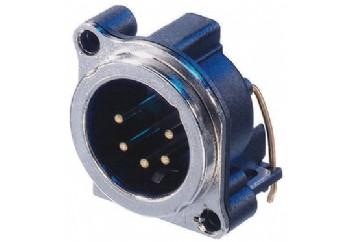 Neutrik NC5MBH - Şasi Tipi XLR Erkek Konnektör (5 Pin)