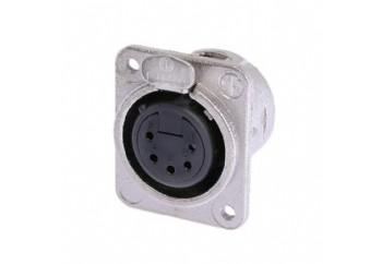 Neutrik NC5FDM3-L-1 - Şasi Tipi XLR Dişi Konnektör (5 Pin)