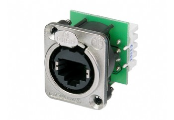 Neutrik NE8FDV-YK-D - Şasi Tipi Ethernet Konnektörü