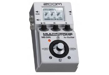 Zoom MS-50G MultiStomp Effects Pedal - Gitar Prosesör