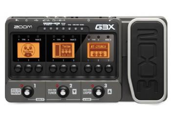 Zoom G3X Multi Effects Pedal - Gitar Prosesör