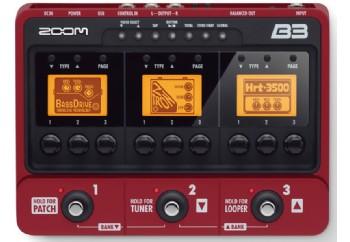 Zoom B3 Bass Multi-Effects Pedal - Bas Prosesör