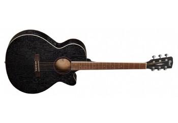 Cort SFX-AB Open Pore Black - Elektro Akustik Gitar