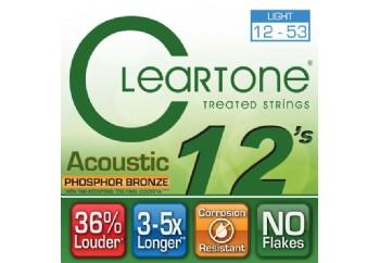 Cleartone Phos-Bronze Light 12-53 Takım Tel - Akustik Gitar Teli 012-053
