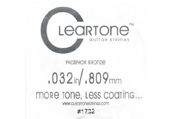Cleartone Acoustic Phos-Bronze 032 Tek Tel - Akustik Gitar Tek Tel