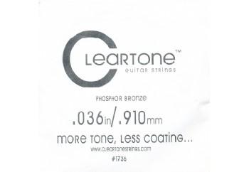 Cleartone Acoustic Phos-Bronze 036 Tek Tel - Akustik Gitar Tek Tel