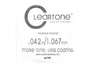 Cleartone Acoustic Phos-Bronze 042 Tek Tel - Akustik Gitar Tek Tel