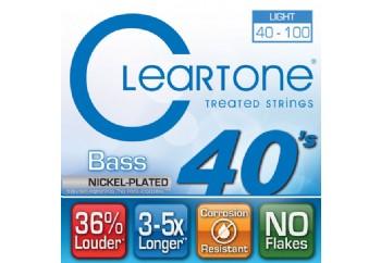 Cleartone Bass Light 40-100 NPS Takım Tel - Bas Gitar Teli 040-100