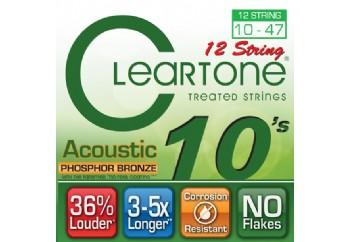 Cleartone Phos-Bronze 12 STRINGS 10-47 Takım Tel