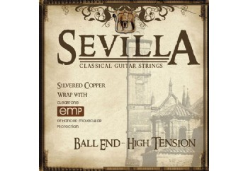 Cleartone Sevilla Hard Tension Ball-end Takım Tel - Klasik Gitar Teli