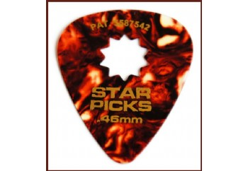 Star Picks Tortoise shell Thin - 0.46 mm - 1 Adet